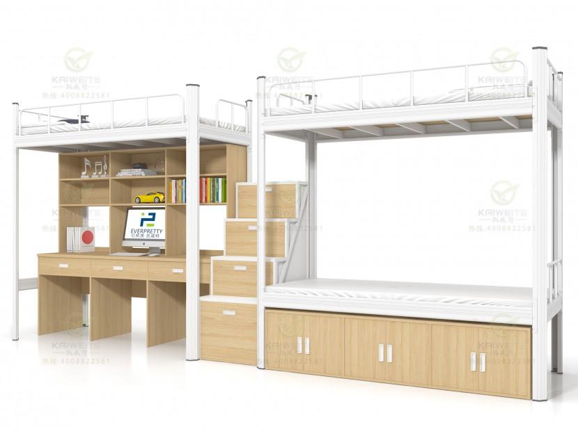 雙層鐵床公寓床C05