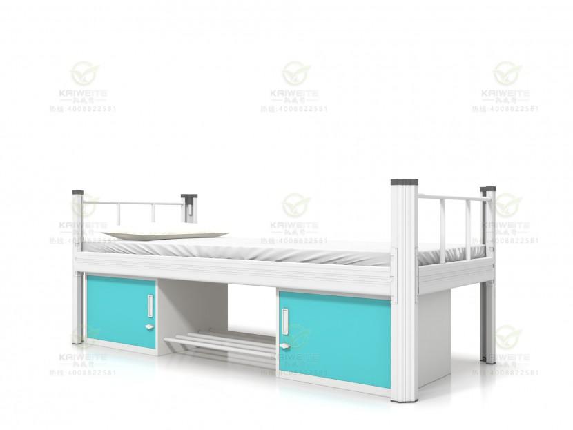 钢制公寓床单层床EB-D02