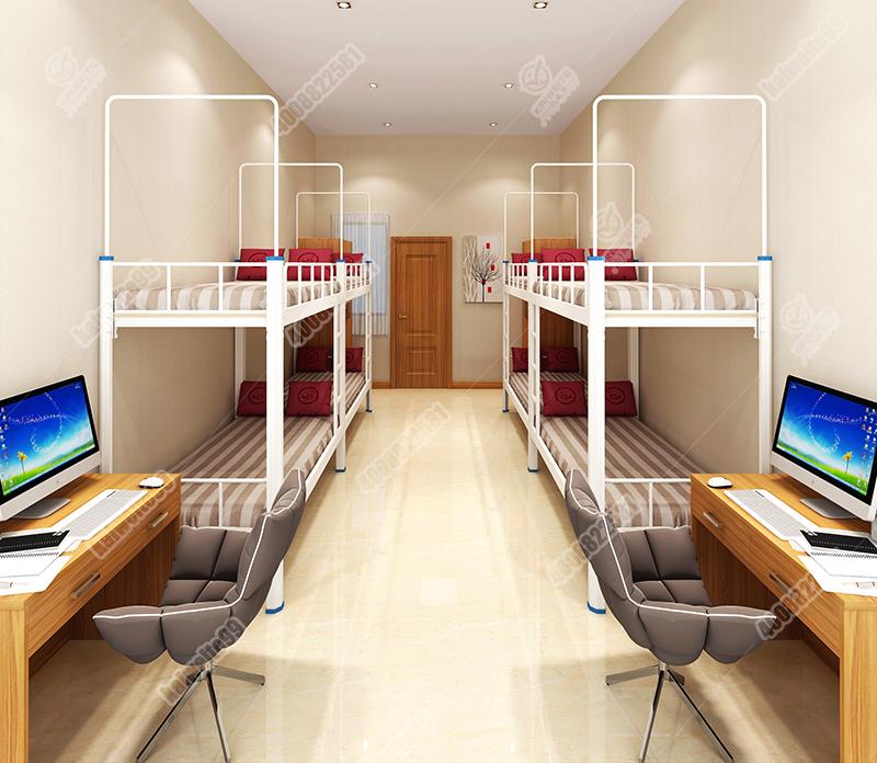 凯威特宿舍公寓床双层铁床