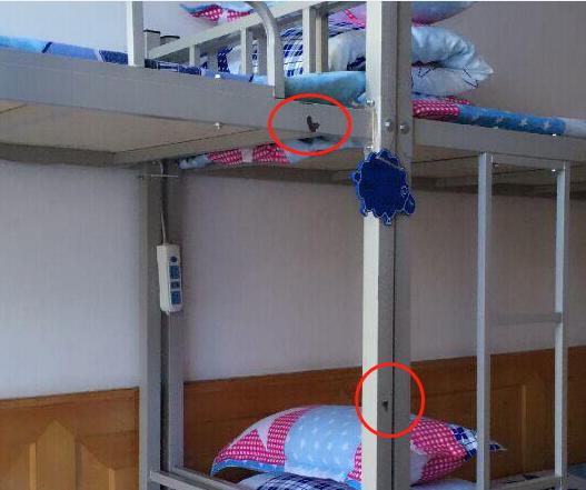 公寓床铁床