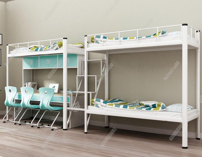 两联三位公寓床