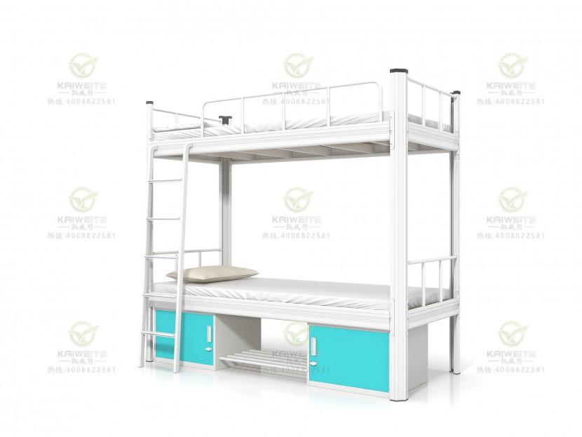 学生双层铁床公寓床