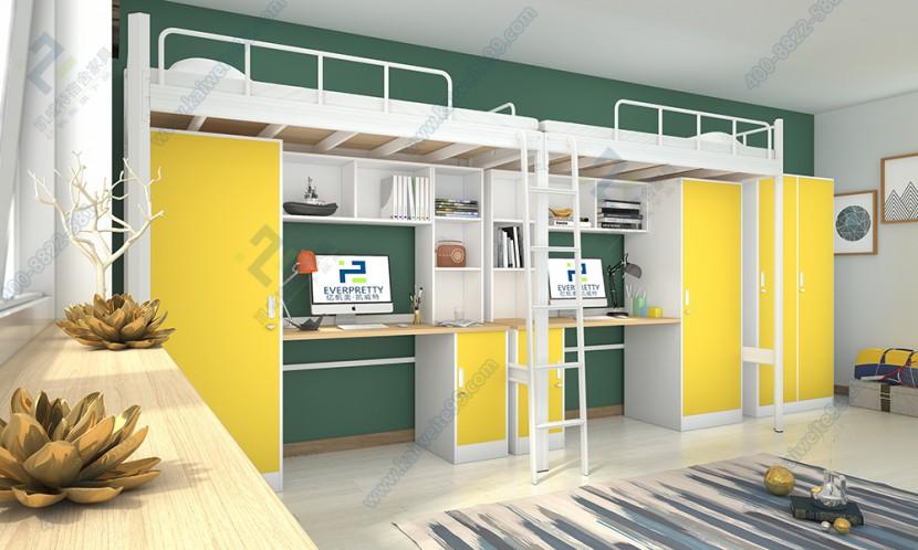 学生桌柜组合公寓床