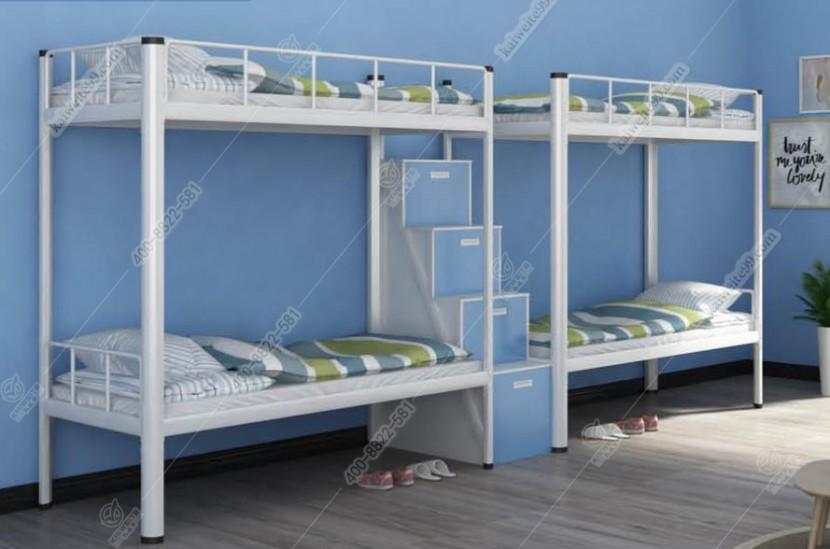 凱威特兩連體雙層鐵床公寓床