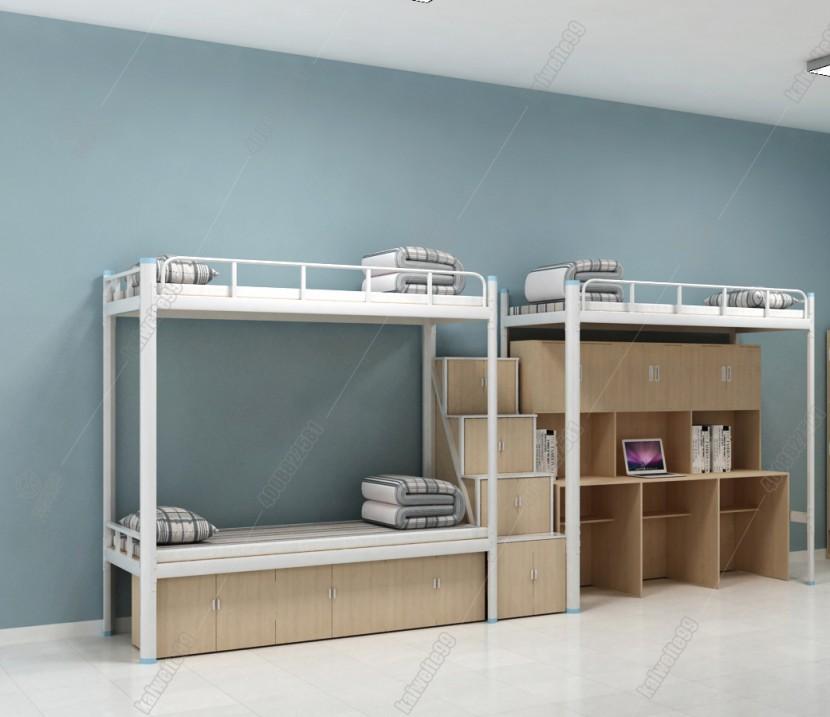 上下鋪鐵床组合公寓床