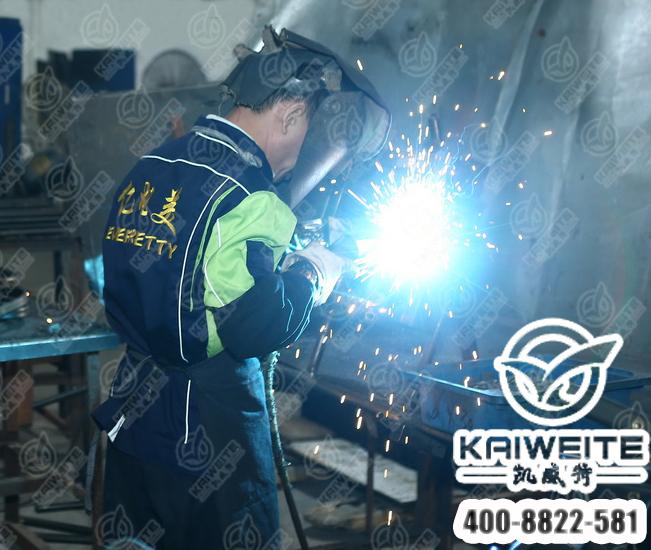 凯威特学生床焊接工艺
