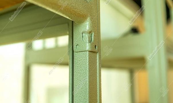 双层铁床卡扣式陈设