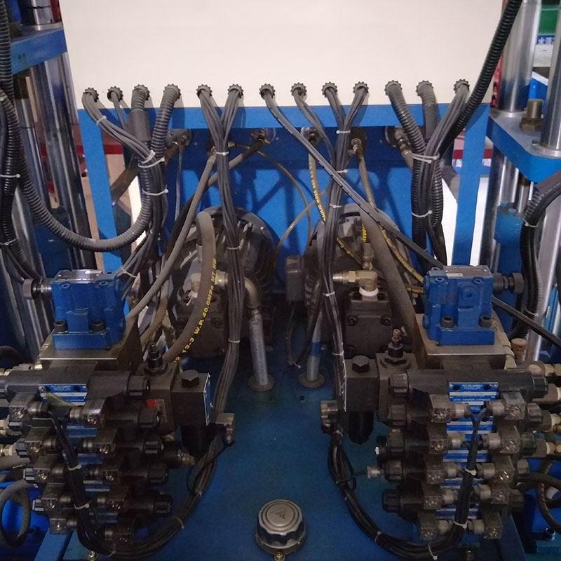 油压机上升下降实物电路图