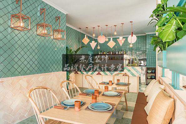 直击人心的小清新上海可暖主题餐厅设计方案