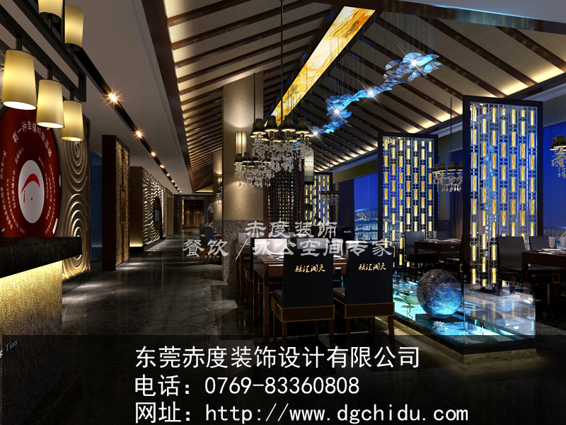 馆餐厅的设计风格了吧,那么,一家专业做湘菜的餐厅应该装修什么样的