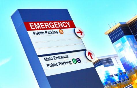 策划医院导视系统设计制作安装
