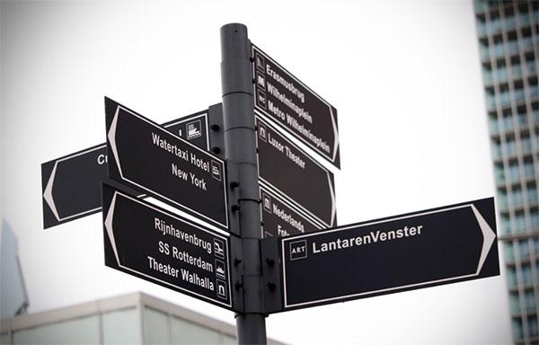 城市导视系统设计