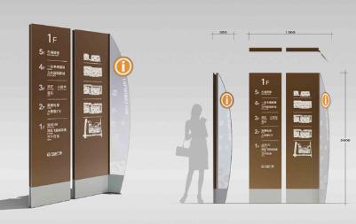 集功能与美观于一体,专业酒店标识系统设计定制
