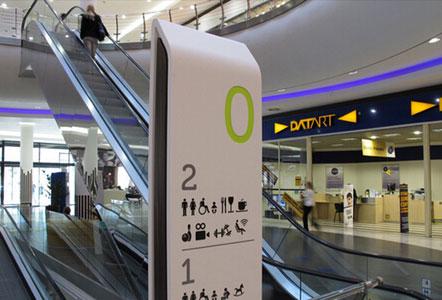 人性化商场标识导视设计,提供美好消费环境