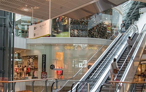 商场环境离不开标识系统设计的完善
