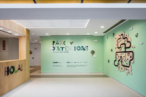 充满童趣的儿童医院导视设计案例