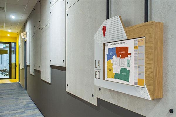 谷歌办公室的导视设计欣赏