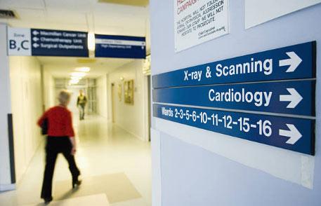 医院室内导向标识设计,解决看病时间长问题