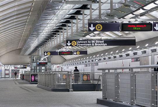 便民化地铁导向标识设计,全力疏导客流