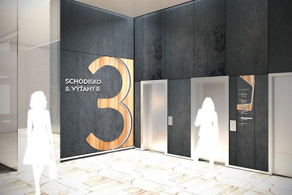 Stanica Nivy购物中心导视设计欣赏