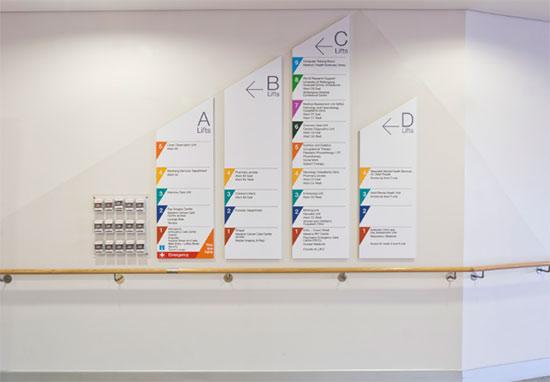 医院环境导视设计欣赏