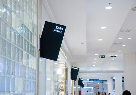 灵活商场引导标识设计应用,打造有吸引力的空间