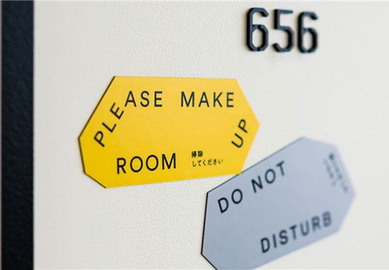 选择合适的酒店门牌标识