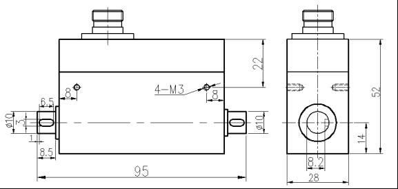 激励电压 10-15vdc 非线性 ±0.1,0.3% f.s.
