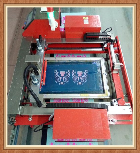 智能走台丝印机