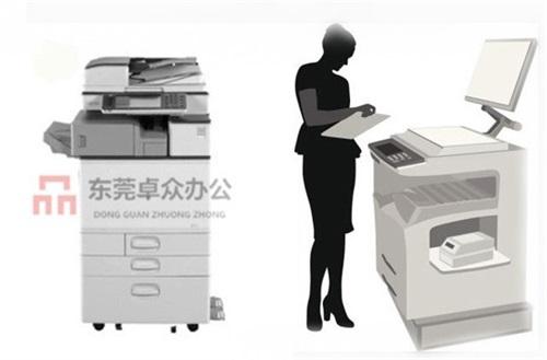 东莞横沥打印机租赁