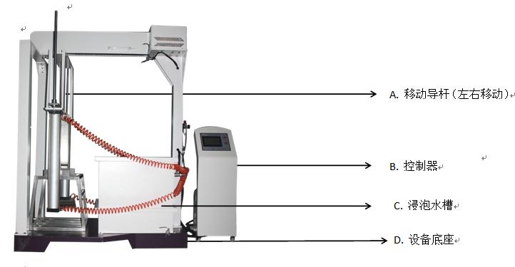 如何正确操作锂电池海水浸泡试验机