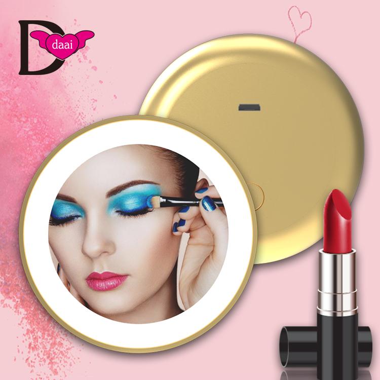 LED補光單面化妝鏡