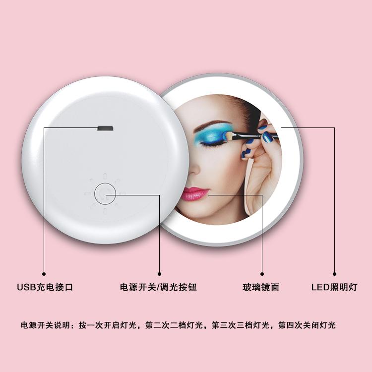 單面led化妝鏡