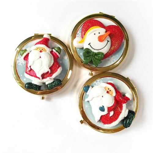 礼赠品圣诞化妆镜