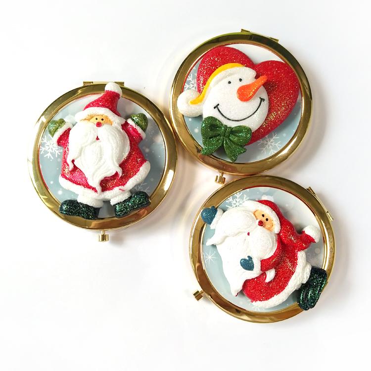 圣诞礼品化妆镜